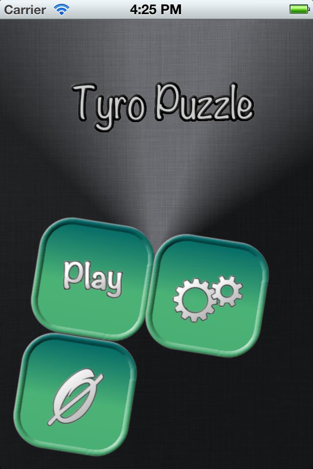 Screenshot Tyro Puzzle
