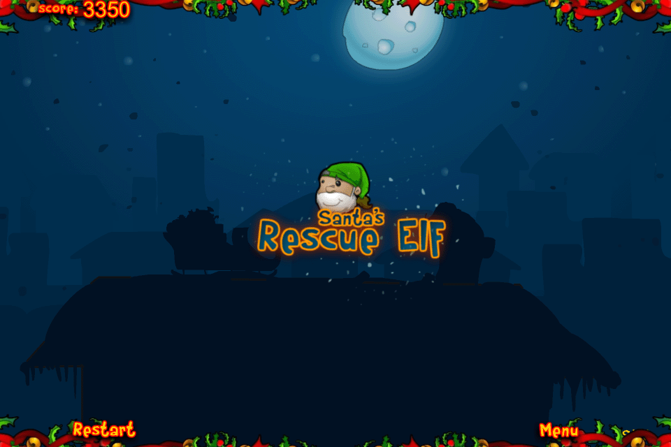Screenshot Santa's Rescue