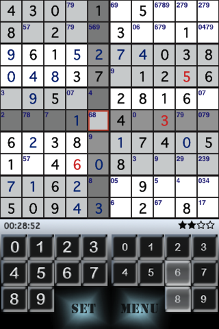 Screenshot 10×10 Sudoku
